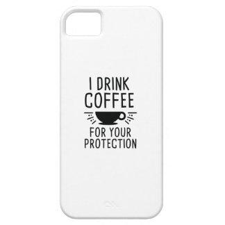 Ich trinke Kaffee iPhone 5 Schutzhüllen