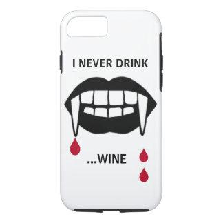 Ich trinke nie… Wein-Telefon-Kasten iPhone 8/7 Hülle
