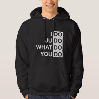 Ich tue Judo… Hoodie