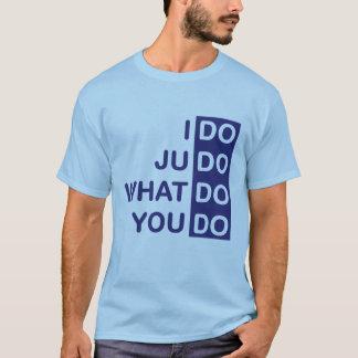 Ich tue Judo-T - Shirt