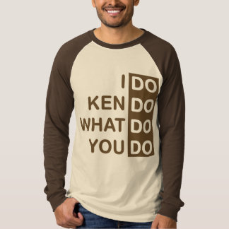 Ich tue Kendo… Raglan-T - Shirt