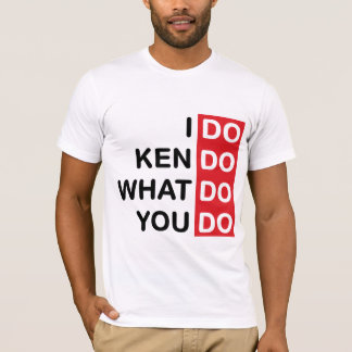Ich tue Kendo T - Shirt