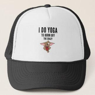 Ich tue Yoga zum Brand vom verrückten (2) Truckerkappe