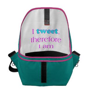 Ich tweete kurier taschen