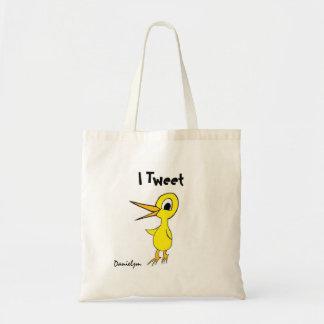 Ich tweete Tasche