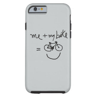 ich u. mein Fahrrad = Glück Tough iPhone 6 Hülle