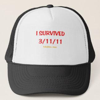 Ich überlebte 3/11/11 truckerkappe