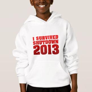 Ich überlebte Abschaltung 2013 Hoodie