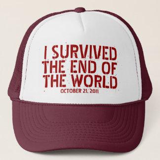 Ich überlebte das Ende des Welthutes Truckerkappe
