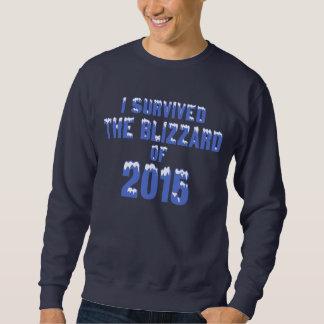 Ich überlebte den Blizzard von 2015 Sweatshirt
