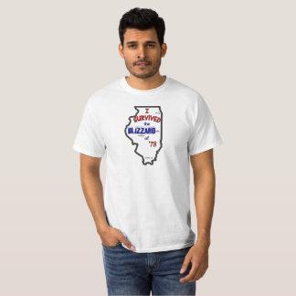 ICH ÜBERLEBTE DEN BLIZZARD VON 78 T-Shirt