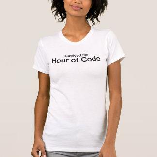 Ich überlebte die Stunde des Codes T-Shirt