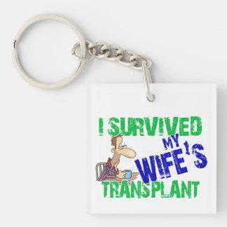 Ich überlebte die Transplantation meiner Ehefrau Schlüsselanhänger
