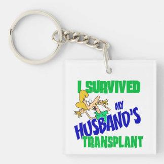 Ich überlebte die Transplantation meines Ehemanns Schlüsselanhänger