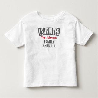 Ich überlebte - Familien-Wiedersehen - Kleinkind T-shirt