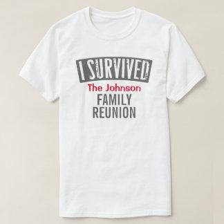 Ich überlebte - Familien-Wiedersehen - T-Shirt