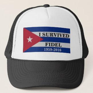 Ich überlebte Fidel Truckerkappe