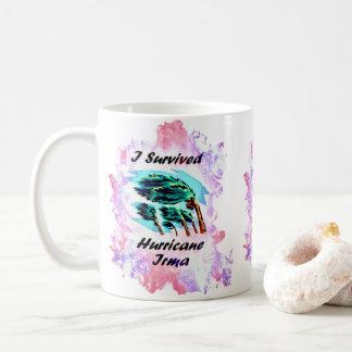 Ich überlebte Hurrikan Irma Kaffeetasse