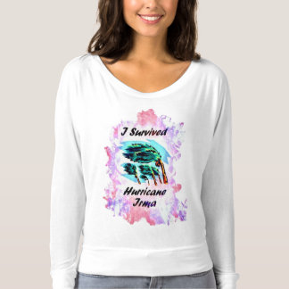 Ich überlebte Hurrikan Irma T-shirt