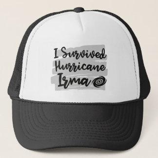 Ich überlebte Hurrikan Irma Truckerkappe