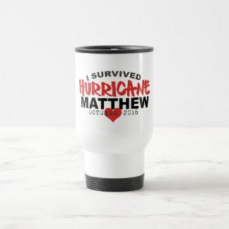 Ich überlebte Hurrikan Matthew im Oktober 2016 Reisebecher