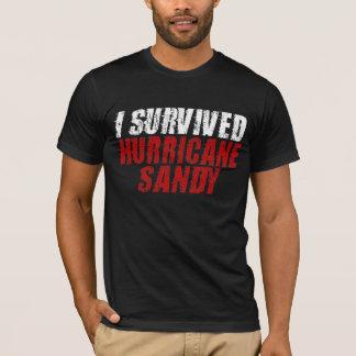 Ich überlebte Hurrikan-Sandy beunruhigten T - T-Shirt