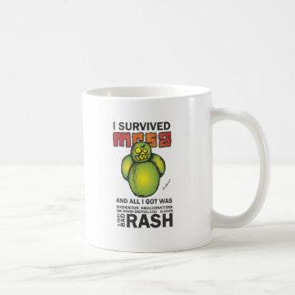 Ich überlebte MRSA Kaffeetasse