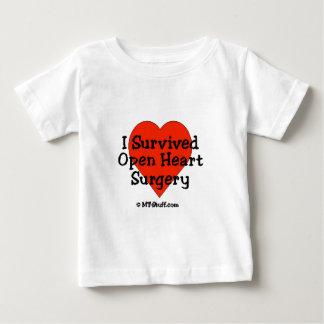 Ich überlebte offene Herz-Operation Baby T-shirt