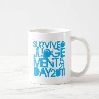 Ich überlebte Tag des Jüngsten Gerichtes 2011 Kaffeetasse