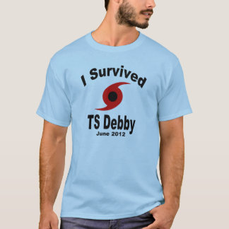 Ich überlebte tropischen Sturm Debby T-Shirt