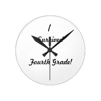 Ich überlebte vierten Grad Uhren