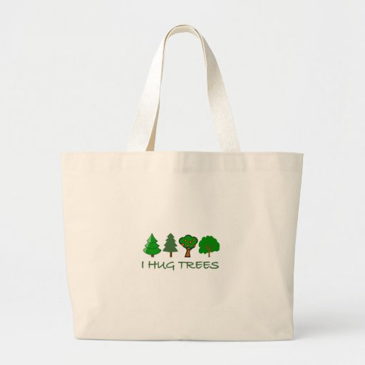 Ich umarme Bäume Tragetasche