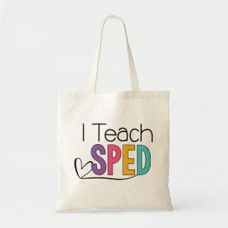 Ich unterrichte BESCHLEUNIGTE Tasche