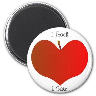 Ich unterrichte, ich mich interessiere Magneten Runder Magnet 5,7 Cm