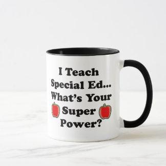 Ich unterrichte speziellen Ed Tasse