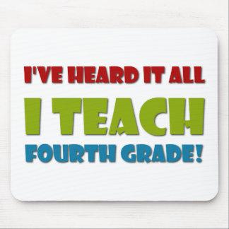 Ich unterrichte vierten Grad Mauspad