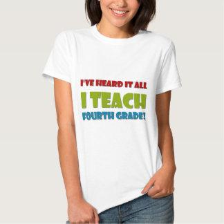 Ich unterrichte vierten Grad Shirts