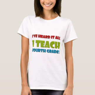 Ich unterrichte vierten Grad T-Shirt