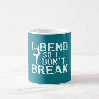 Ich verbiege, also breche ich nicht kaffeetasse