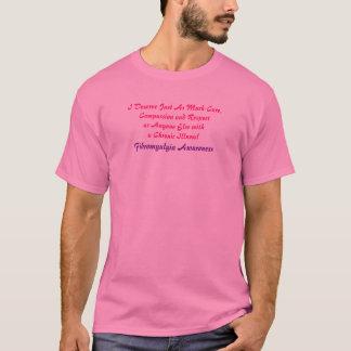 Ich verdiene gerade so viel Sorgfalt, Mitleid und T-Shirt