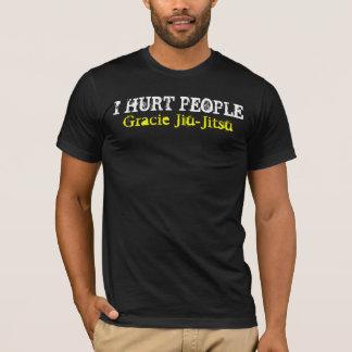 ICH VERLETZTE LEUTE, Gracie Jiu-Jitsu T-Shirt