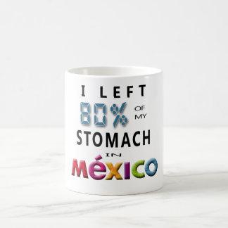 Ich verließ 80% meines Magens in Mexiko Kaffeetasse