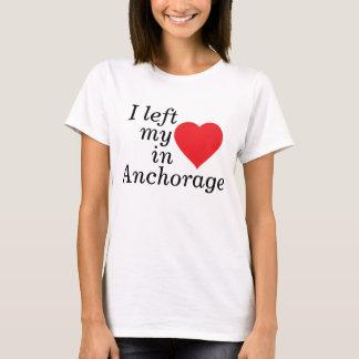 Ich verließ mein Herz in Anchorage T-Shirt