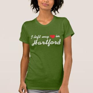 Ich verließ mein Herz in Hartford T-Shirt