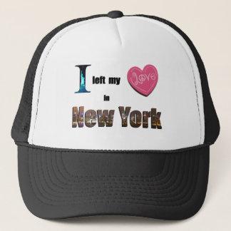 Ich verließ mein Herz in New York - Truckerkappe