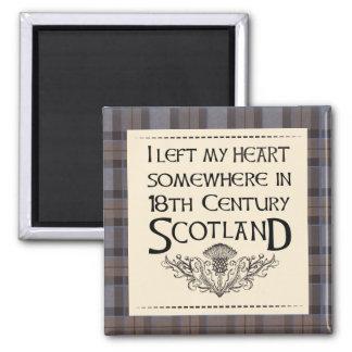 Ich verließ mein Herz in Schottland Quadratischer Magnet