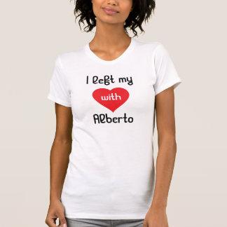 Ich verließ mein Herz mit Alberto T-Shirt