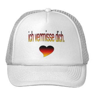 Ich Vermisse Dich Deutsche Flaggen-Farben