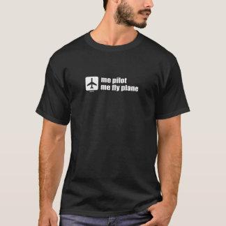ich Versuchs ich Fliegen-Flugzeug T-Shirt