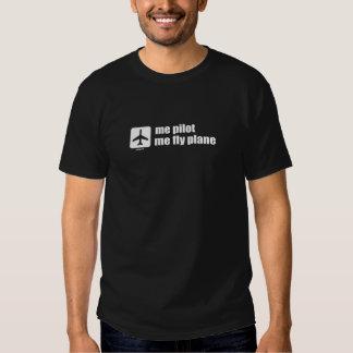 ich Versuchs ich Fliegen-Flugzeug T-Shirts